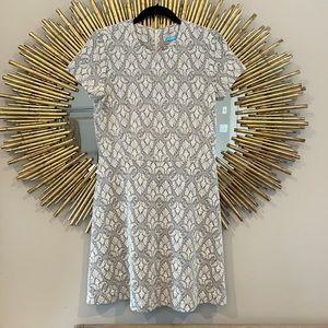 J. McLaughlin Grey Mini Dress